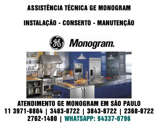 Ge Monogram Assistência Técnica