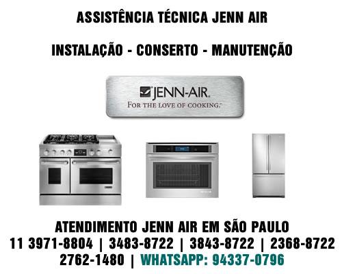 Jenn Air Assistência Técnica